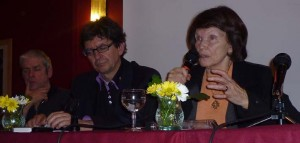 Jean Luc Touly et Danielle Mitterand à Brest