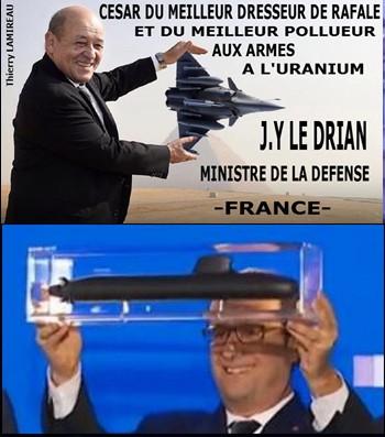 Le Drian Hollande