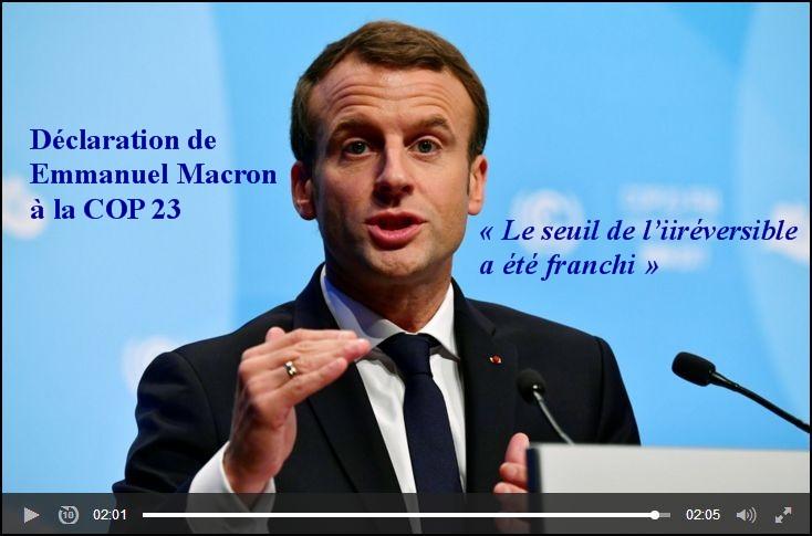macron COP 23.a