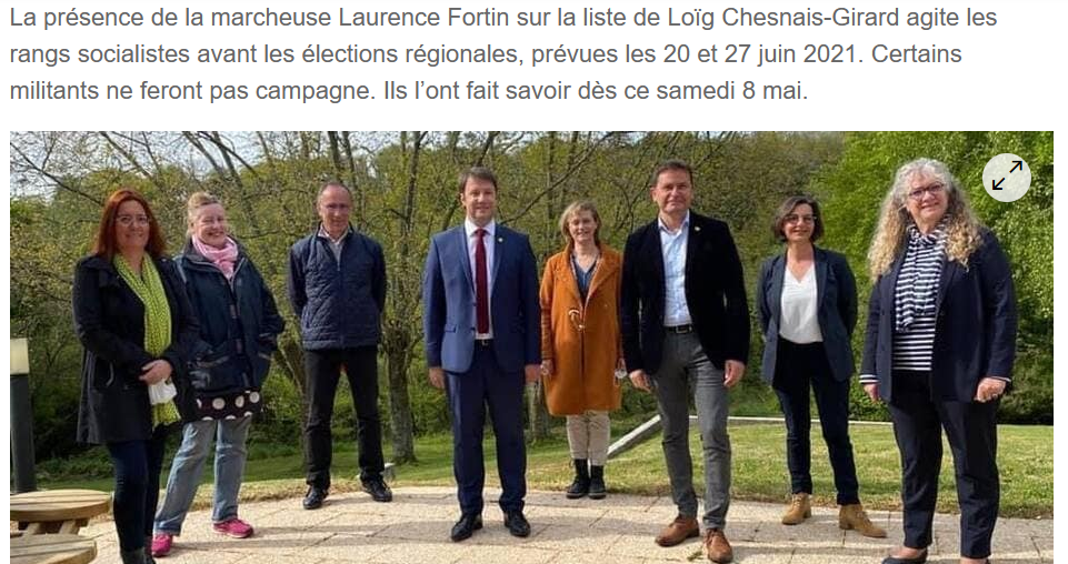 Fortin régionales